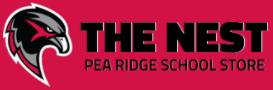THE NEST – Pea Ridge School Spirit Store Logo